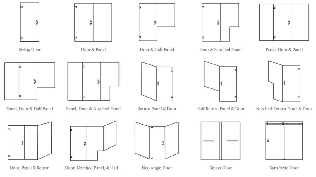 Shower Door Types